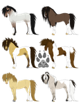 Stallion Adoptables- CLOSED by CookieLoveXO