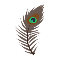 Peacock Feather Cutie Mark - REQUEST by LazingAbout94