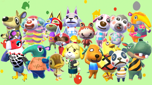 Animal Crossing New Leaf - Chuggaaconroy Wallpaper by MidniteAndBeyond