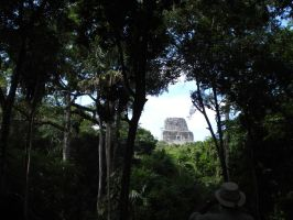 Tikal Temple IV by MexicanGuy