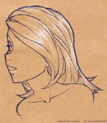 brown paper sketch by suzanami