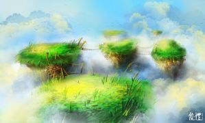 Floating Islands by IvanChanCL