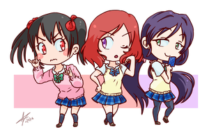 Best girls (Love Live!) by StalkingP