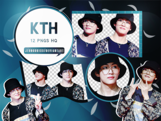 PNG Pack|Taehyung (BTS) by jeongukiss