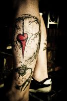 Alex Pardee - The Used Tattoo by TMacAG