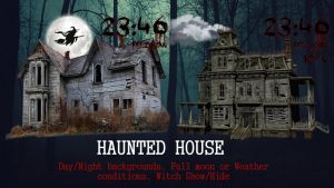 Haunted House for xwidget by Jimking