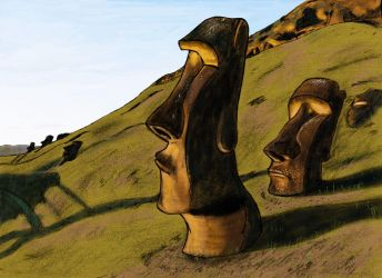 Easter Island by PossibilitiesForever