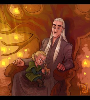 LOTR - Childhood by the-evil-legacy