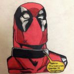 Deadpool by Litt1eRed