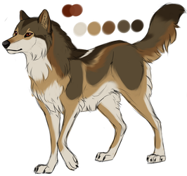 Wolf Design for BlackBurn by Wildfire-Tama
