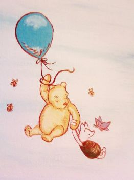 Classic Pooh and Piglet by BeingLoveChild