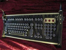 The Antediluvian Keyboard by ParadoxTentacles