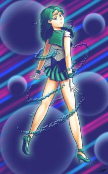 Sailor Neptune by Espiownage