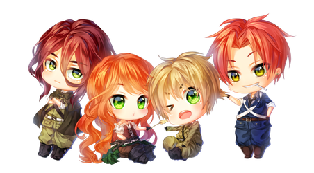 The United Kingdom / Kirkland Family - Hetalia by FionaKirkland
