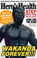Hero's Health - Wakanda Forever! by AndrewKwan