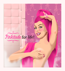 Pinkitude for life by QuicheLoraine