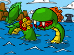 Wind Waker... Kraken? by The-Bradshacalypse