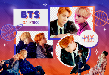 PNG PACK: BTS #34 (WINGS, I version) by Hallyumi