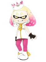 Splatoon Pearl by Puppyy34