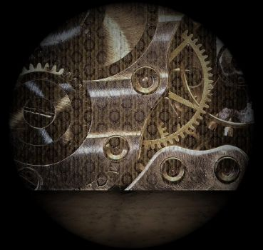 Gears Background by mysticmorning