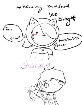 Hearing marshall sing/talk for the first time by Shadow0Kat0
