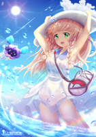 Lillie - Pokemon by chinchongcha