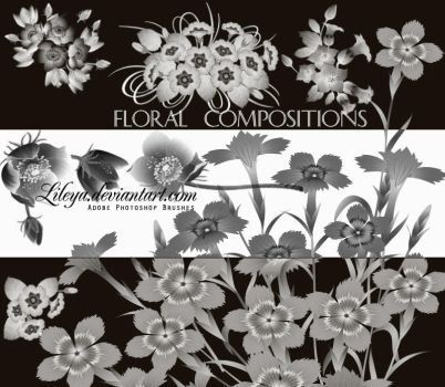 Floral Compositions by Lileya