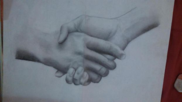 handshake by AndyVRenditions