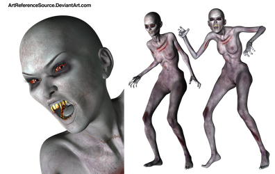 Free Zombie PNG by ArtReferenceSource