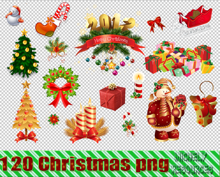Christmas Png Pack. Navidad png pack by MichelyResources