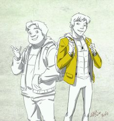 Pete and Ned by Lemwell