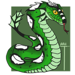 Emerald Sand Serpent by ReapersMenagerie