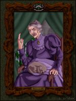 Mrs. Black's Portrait by Harry-Potter-Spain
