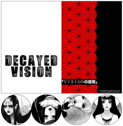 DECAYED VISION - art book preorder by moral-extremist