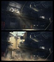 Code 51 Warehouse concept by mrainbowwj