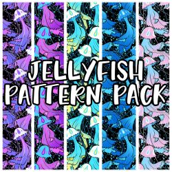 jellyfish pattern pack by mayakern