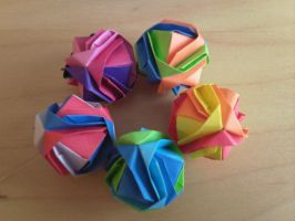more origami by moth-owl