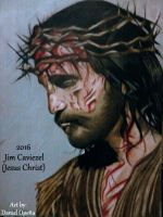 Jim Caviezel (Jesus Christ) (2016) by nielopena