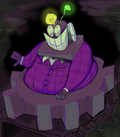 toontown sellbot vp by kartoonery