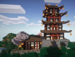Traditional Chinese House 2 by iceshark4