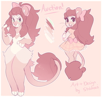sweet lion auction (closed) by Keybladefire