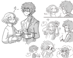 HA Doodles by ScruffyPalmTrees