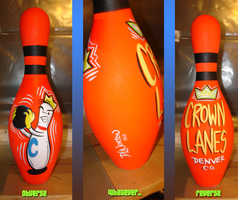 Bowling Pin Number 5 by DLNorton