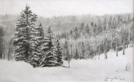 winter pines by namtra9