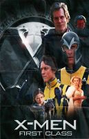X-Men: First Class Movie Poster by policegirl01