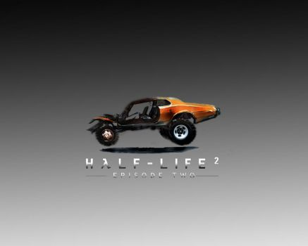 half-life 2 car wp by 2ndKrueger
