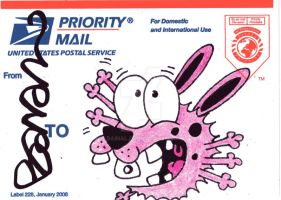 USPS Sticker 16 by Bainal