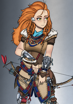 Aloy - Horizon Zero Dawn by JasonBreak