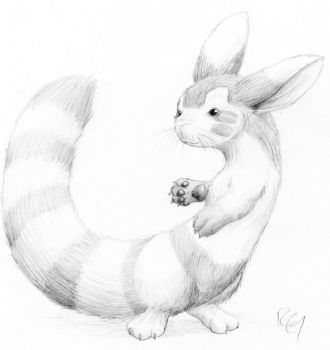 Realistic Furret by RickGriffin