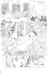 Batman: Arkham Unhinged Sample pg 2 by SaviorsSon